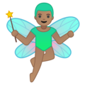 Man Fairy: Medium Skin Tone on Google Android 9.0
