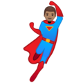 Man Superhero: Medium Skin Tone on Google Android 9.0