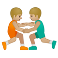 Men Wrestling, Type-3 on Google Android 9.0