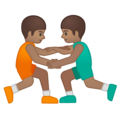 Men Wrestling, Type-4 on Google Android 9.0