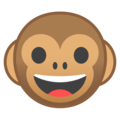 Monkey Face on Google Android 9.0