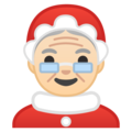 Mrs. Claus: Light Skin Tone on Google Android 9.0