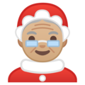 Mrs. Claus: Medium-Light Skin Tone on Google Android 9.0
