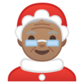 Mrs. Claus: Medium Skin Tone on Google Android 9.0