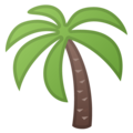 Palm Tree on Google Android 9.0