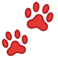 Paw Prints on Google Android 9.0