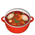 Pot of Food on Google Android 9.0