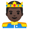 Prince: Dark Skin Tone on Google Android 9.0