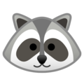 Raccoon on Google Android 9.0