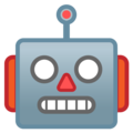Robot Face on Google Android 9.0