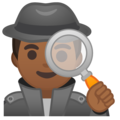 Detective: Medium-Dark Skin Tone on Google Android 9.0