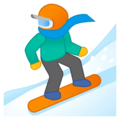 Snowboarder on Google Android 9.0