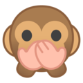 Speak-No-Evil Monkey on Google Android 9.0