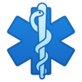 Medical Symbol on Google Android 9.0