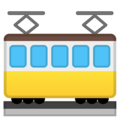 Tram Car on Google Android 9.0