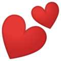 Two Hearts on Google Android 9.0