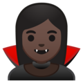 Vampire: Dark Skin Tone on Google Android 9.0