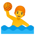 Person Playing Water Polo on Google Android 9.0