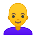 Woman, Bald on Google Android 9.0