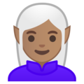 Woman Elf: Medium Skin Tone on Google Android 9.0