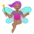 Woman Fairy: Medium Skin Tone on Google Android 9.0