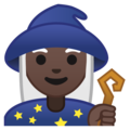 Woman Mage: Dark Skin Tone on Google Android 9.0