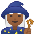 Woman Mage: Medium-Dark Skin Tone on Google Android 9.0