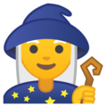 Woman Mage on Google Android 9.0