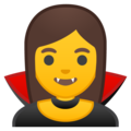 Woman Vampire on Google Android 9.0