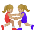 Women Wrestling, Type-3 on Google Android 9.0