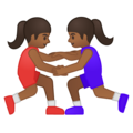 Women Wrestling, Type-5 on Google Android 9.0