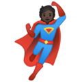 Superhero: Dark Skin Tone on Google Android 10.0
