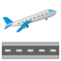 Airplane Departure on Google Android 10.0