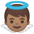Baby Angel: Medium Skin Tone on Google Android 10.0