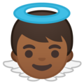Baby Angel: Medium-Dark Skin Tone on Google Android 10.0