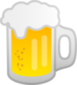 Beer Mug on Google Android 10.0