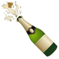 Bottle with Popping Cork on Google Android 10.0