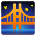 Bridge at Night on Google Android 10.0