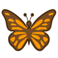 Butterfly on Google Android 10.0