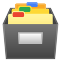 Card File Box on Google Android 10.0