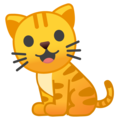 Cat on Google Android 10.0