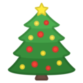 Christmas Tree on Google Android 10.0