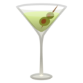 Cocktail Glass on Google Android 10.0