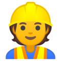 Construction Worker on Google Android 10.0