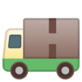 Delivery Truck on Google Android 10.0