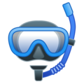 Diving Mask on Google Android 10.0