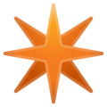Eight-Pointed Star on Google Android 10.0