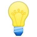 Light Bulb on Google Android 10.0