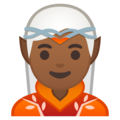 Elf: Medium-Dark Skin Tone on Google Android 10.0