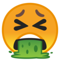 Face Vomiting on Google Android 10.0